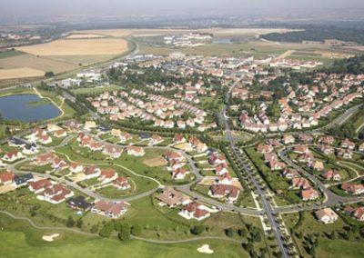Ville de MAGNY LE HONGRE (77)